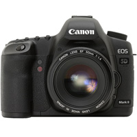 Canon EOS 5D Mark II digital camera hire from RENTaCAM