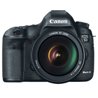 Canon EOS 5D Mark III digital camera hire from RENTaCAM