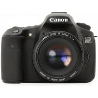 Canon EOS 60D digital camera hire from RENTaCAM