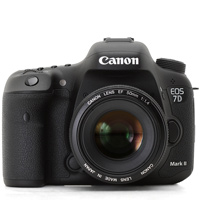 Canon EOS 7D mark II digital camera hire from RENTaCAM