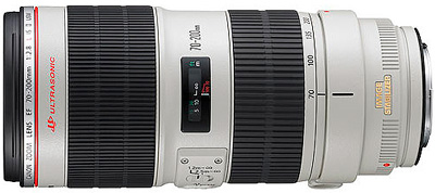 Canon EF 70-200mm f/2.8L IS II USM lens hire from RENTaCAM Sydney
