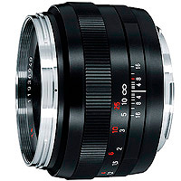 Carl Zeiss Planar T* 1,4/50 - 50mm f1.4 hire from RENTaCAM Sydney