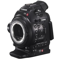 Canon EOS C100 EF cinema camcorder hire from RENTaCAM Sydney