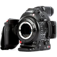 Canon EOS C100 mark II cinema camcorder hire from RENTaCAM Sydney