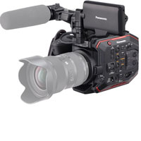 Panasonic AU-EVA1 5.7K Cinema Camera hire from RENTaCAM