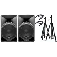 Alto TX10 10inch Truesonic 560W Powered PA Speaker PackX hire from RENTaCAM Sydney