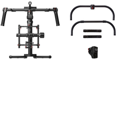 DJI Ronin MX 3-Axis Gimbal Stabilizer with Grip & Wireless Thumb Controller hire from RENTaCAM Sydney