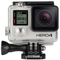 GoPro HD HERO4 Black Edition hire from RENTaCAM