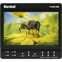 Marshall 5-inch Small HDMI 800 x 480 Monitor V-LCD50-HDMI hire from RENTaCAM Sydney
