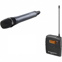 Sennheiser EW 135-p G3-B Wireless Handheld Microphone System + E835 Mic – B set hire from RENTaCAM Sydney