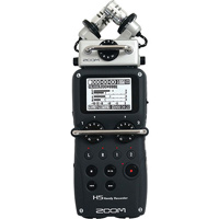 Zoom H5 Handy Recorder hire from RENTaCAM Sydney