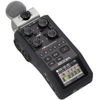 Zoom H6 Handy Recorder hire from RENTaCAM Sydney