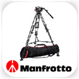 Manfrotto DSLR video tripod and head hire - RENTaCAM Sydney