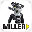 Miller DSLR video tripod and head hire - RENTaCAM Sydney