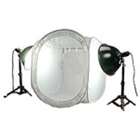 80x80cm photo light tent kit hire from RENTaCAM Sydney