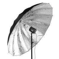 Paul C. Buff - 86-inch Extreme Silver PLM Umbrella hire from RENTaCAM Sydney