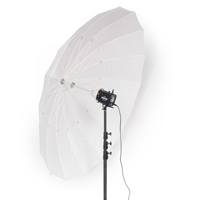 Paul C. Buff - 86-inch White PLM Umbrella hire from RENTaCAM Sydney