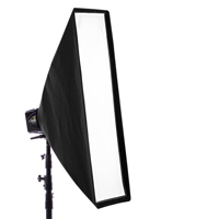 Paul C. Buff - 10x36-inch Foldable Stripbox hire from RENTaCAM Sydney