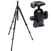Manfrotto 055XPROB PRO with Manfrotto 498RC2 Midi Ball Head