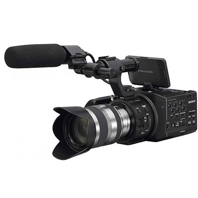 Sony NEXFS100 camcorder hire from RENTaCAM Sydney